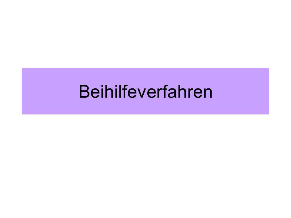 Allgemeine Gruppenfreistellungsverordnung II Nur für transparente Beihilfen (z.B.