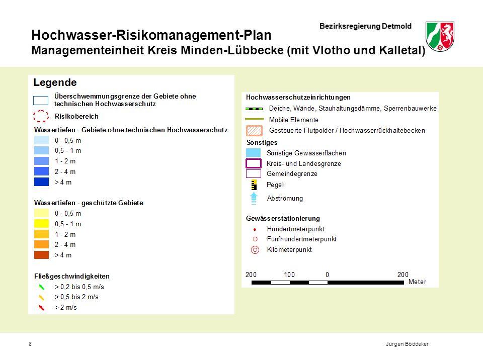 Bezirksregierung Detmold Hochwasser-Risikomanagement-Plan Managementeinheit Kreis Minden-Lübbecke (mit Vlotho und Kalletal) 8Jürgen Böddeker