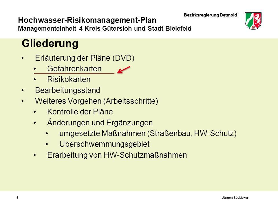 Bezirksregierung Detmold Hier könnte ein schmales Bild eingefügt werden Hochwasser-Risikomanagement-Richtlinie Daten-DVD und Internetauftritt: http://www.hwrm-rl-owl.nrw.de Dipl.-Ing.