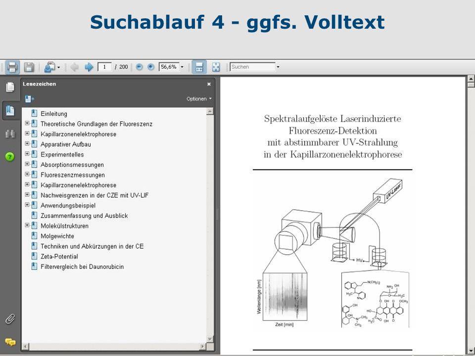 17 Suchablauf 4 - ggfs. Volltext