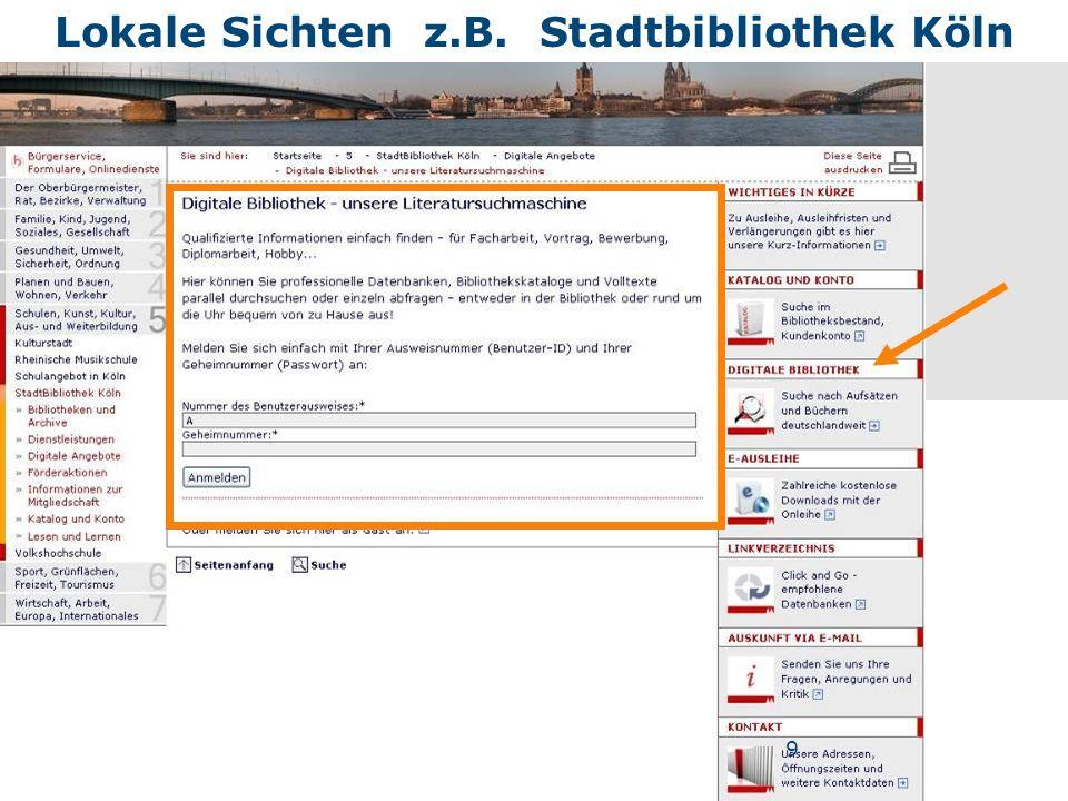 Nannette Heyder - hbz Volltexte durch Technische Tricks - in der Langanzeige (z.B.
