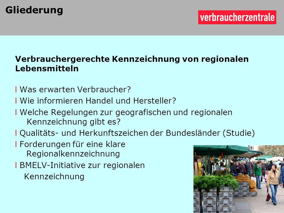 l Gerste von hessischen Landwirten l Qualitäts- und Herkunftszeichen Geprüfte Qualität - HESSEN 13 Wie informieren Hersteller und Handel.