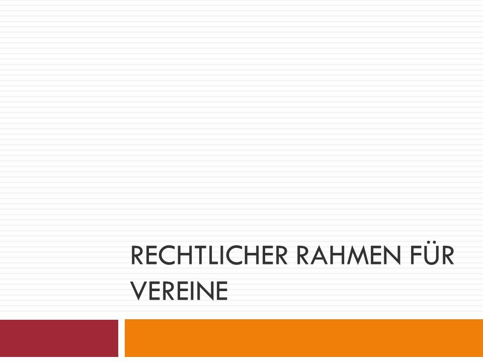 Informationsquellen www.gemeinnuetzigkeit.info www.vereinsbesteuerung.de Broschüre Vereine und Steuern ISBN 978-3-00-024568-8 Steuerberater Rechtsanwalt Finanzamt Amtsgericht