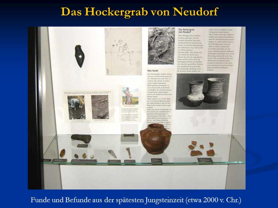 Das Hockergrab von Neudorf Funde und Befunde aus der spätesten Jungsteinzeit (etwa 2000 v. Chr.)