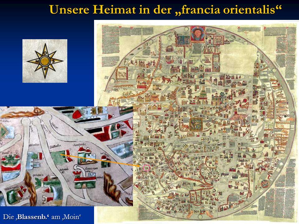 Unsere Heimat in der francia orientalis Die Blassenb. am Moin