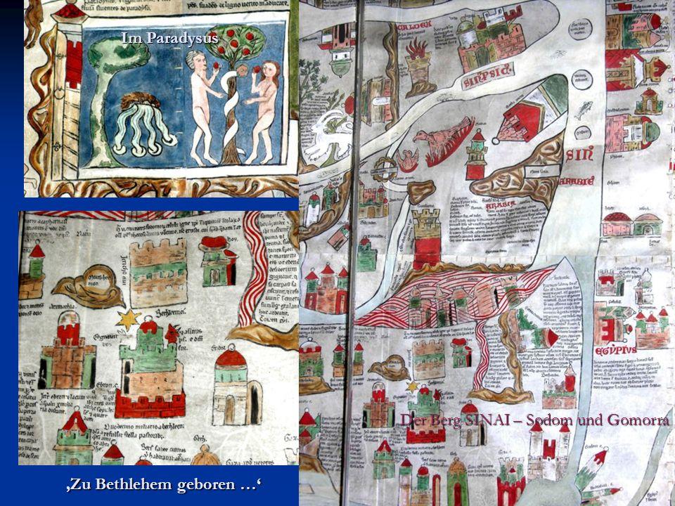 Der Berg SINAI – Sodom und Gomorra Im Paradysus Zu Bethlehem geboren …