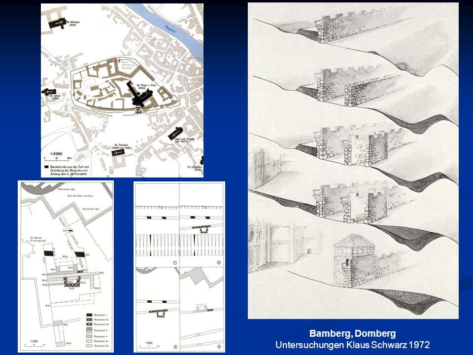 Bamberg, Domberg Untersuchungen Klaus Schwarz 1972