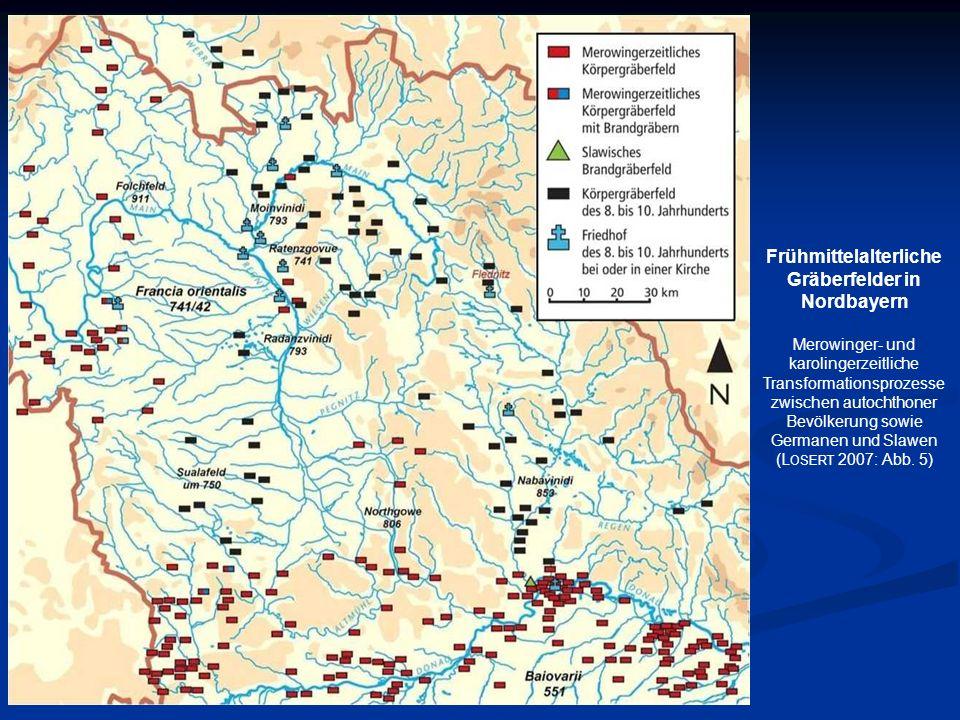 Frühmittelalterliche Gräberfelder in Nordbayern Merowinger- und karolingerzeitliche Transformationsprozesse zwischen autochthoner Bevölkerung sowie Ge