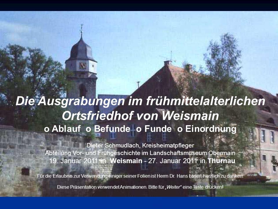 Missionskirchen Karls des Großen für die Main- und Regnitzwenden, nach 793 (A NDRASCHKE 2007: Abb.