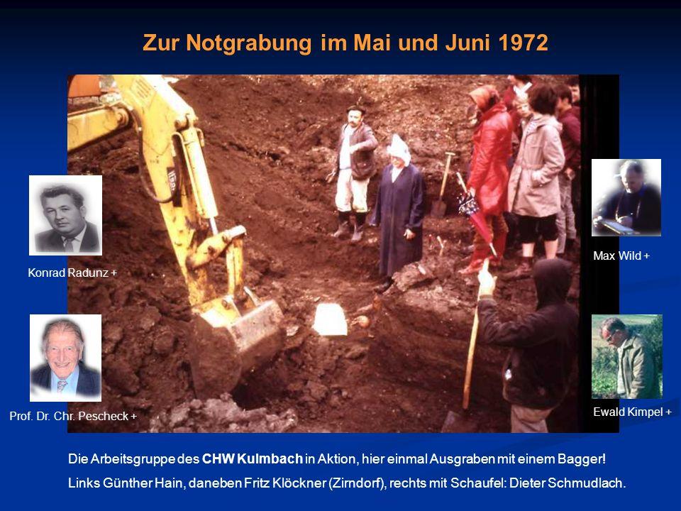 Weismainer Funde in der Prähistorischen Staatssammlung in München (1975)