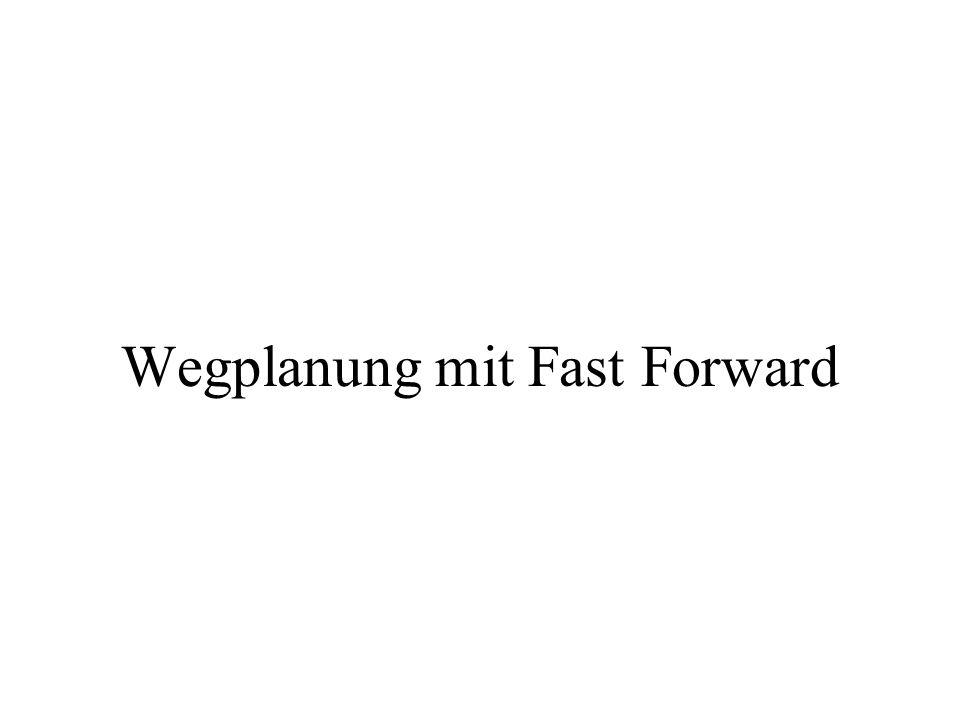 Wegplanung mit Fast Forward