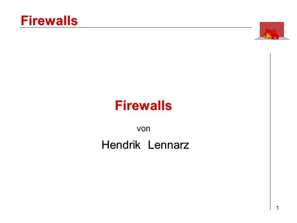 2 Firewalls 1.Einleitung 2.Ziele einer Firewall 3.Paket-Filter/Application Gateway 4.Konzepte / Lösungen 5.Der praktische Einsatz 6.Fazit