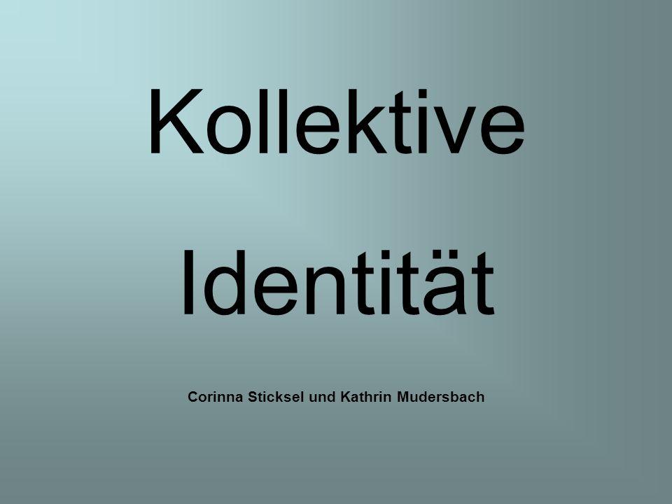 Kollektive Identität Corinna Sticksel und Kathrin Mudersbach