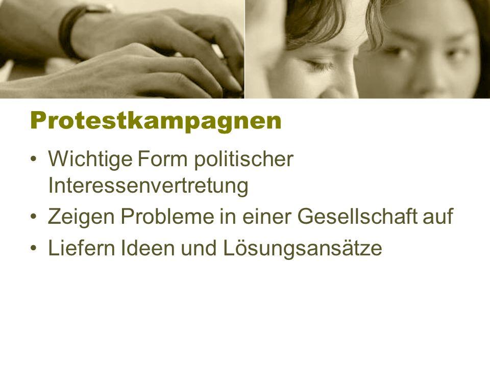 Solidarisierung / Entsolidarisierung Solidaritätsproteste z.B.
