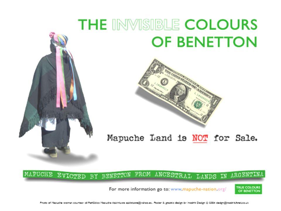 Soziale Ebene Unmenschliche Arbeitsbedingungen Geringfügige Entlohnung Ausnutzung der schwachen Lage der Mapuche Soziale Abwertung der Mapuche
