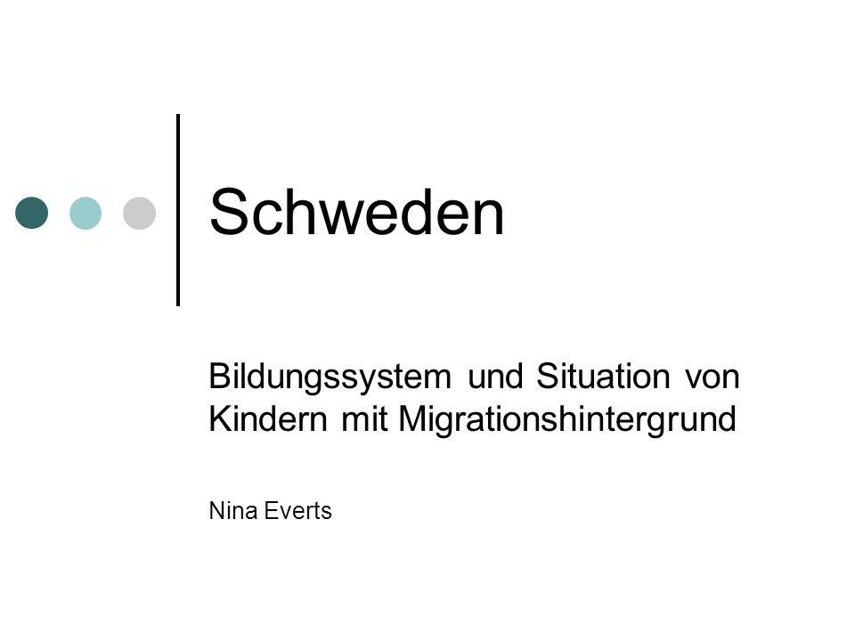 Gliederung 1.Gesellschaftliche Rahmenbedingungen in Schweden 2.