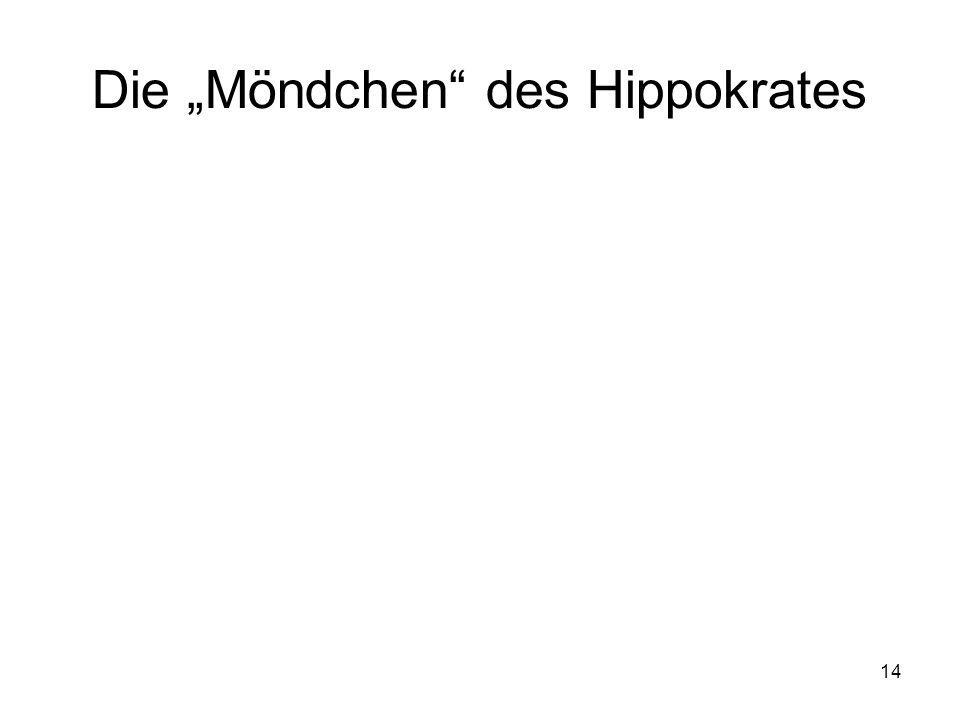 14 Die Möndchen des Hippokrates