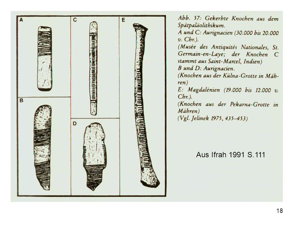 18 Aus Ifrah 1991 S.111