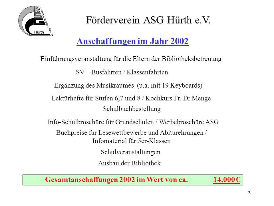 2 Förderverein ASG Hürth e.V.