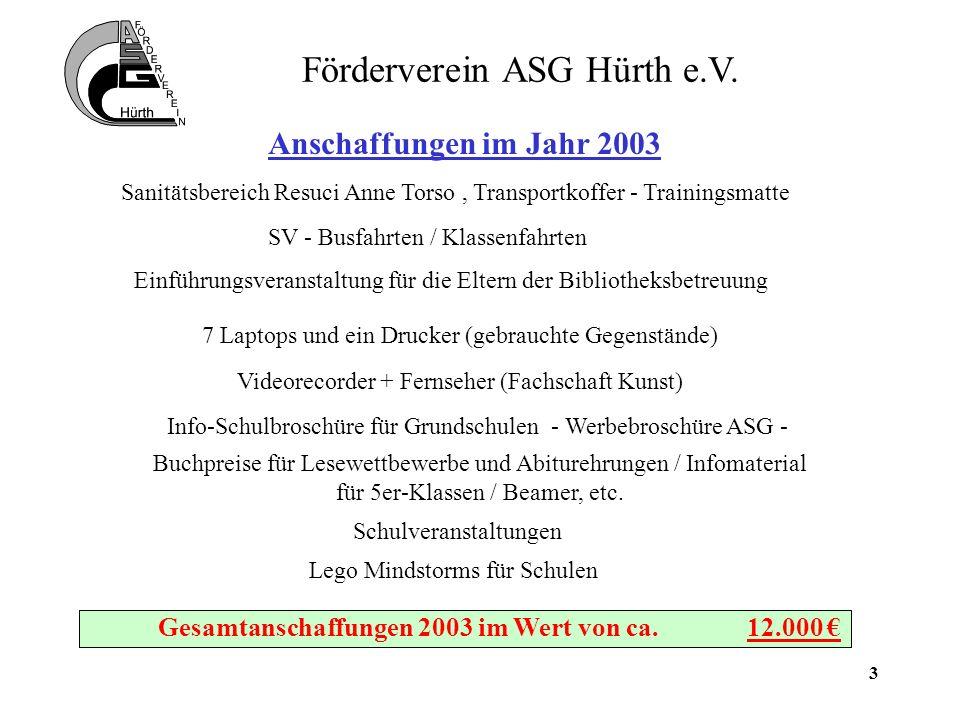 4 Förderverein ASG Hürth e.V.
