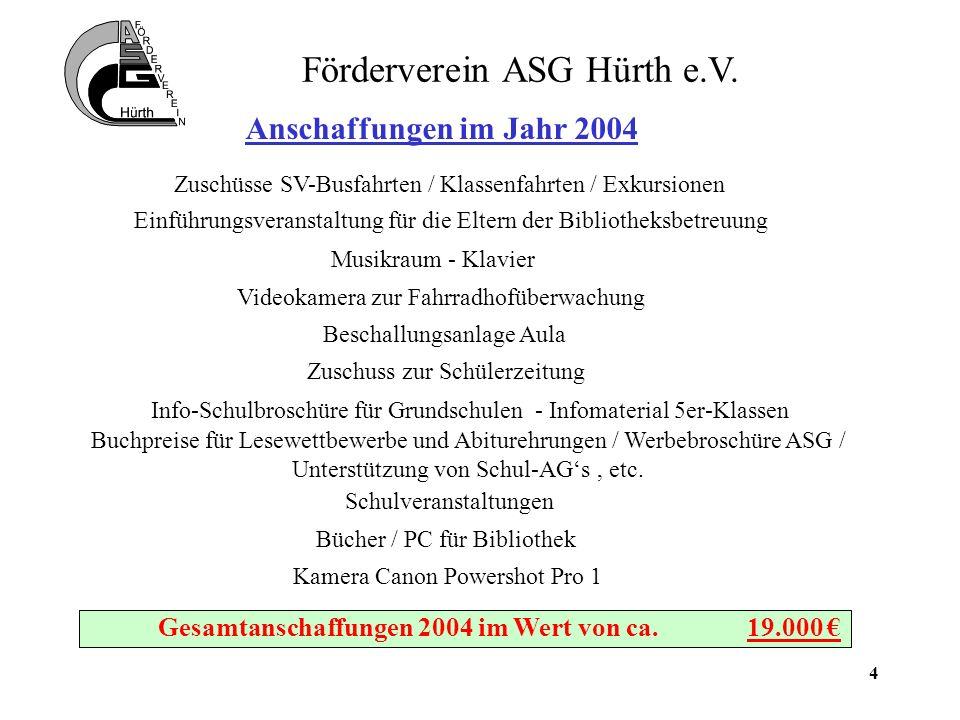 5 Förderverein ASG Hürth e.V.