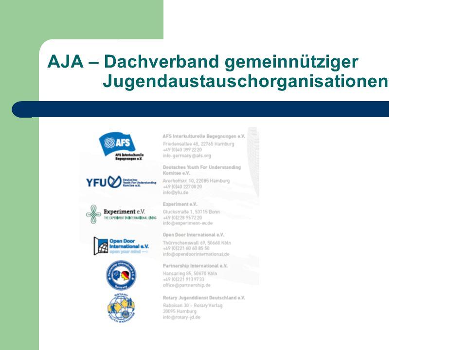AJA – Dachverband gemeinnütziger Jugendaustauschorganisationen