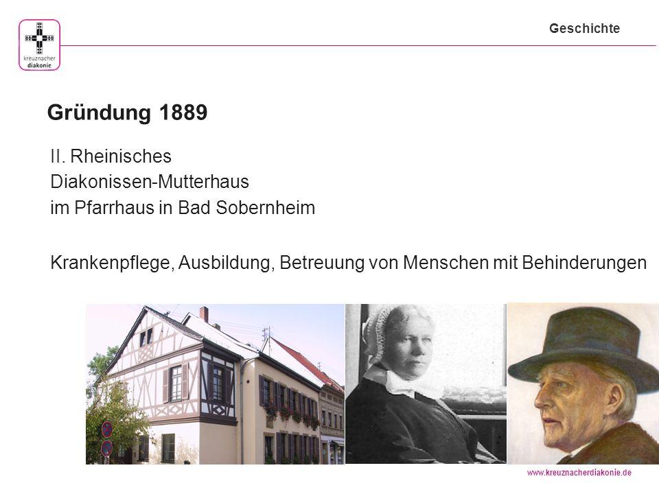 www.kreuznacherdiakonie.de Hessen Saarland Rheinland-Pfalz Rund 100 diakonisch-soziale Einrichtungen in drei Bundesländern