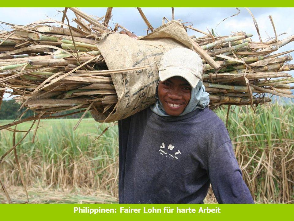 Philippinen: Fairer Lohn für harte Arbeit