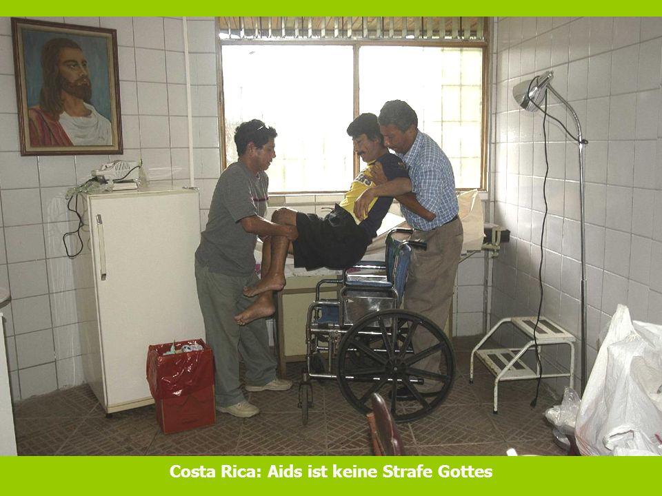 Costa Rica: Aids ist keine Strafe Gottes