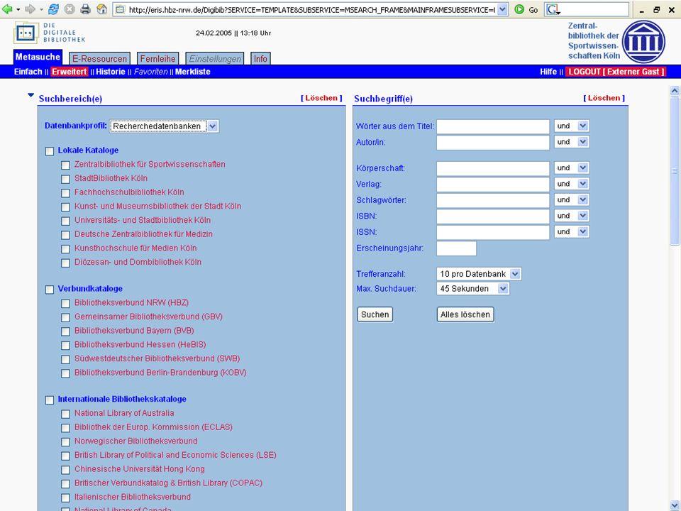 Leipzig, 24.9.200517. dvs-Hochschultag / Johannsen: ViFa Sport23