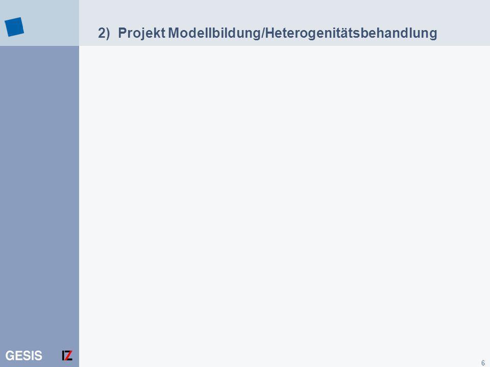 17 Beispiel: Antwort des Heterogenitätsservices Baumstruktur der Anfrage