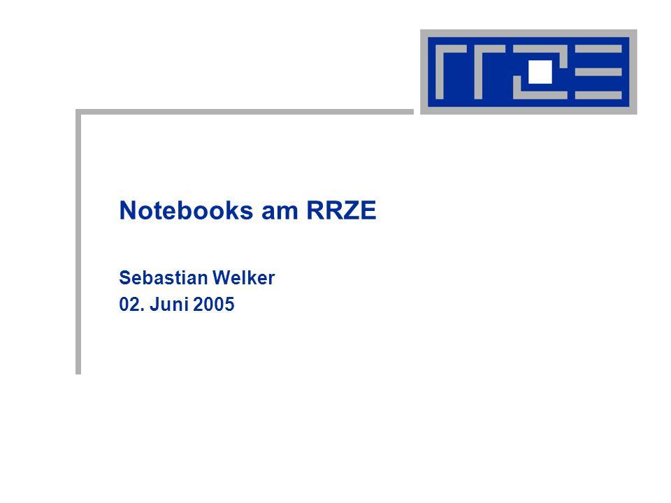 Notebookausschreibung am RRZE02.06.2005sebastian.welker@rrze.uni-erlangen.de2 Gliederung Kriterien Notebooks Displays Prozessoren W-LAN