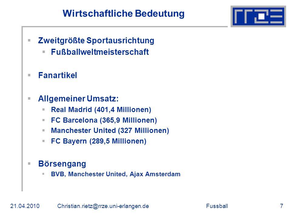 Fussball Weltweite Verbreitung In über 200 Ländern und ca.