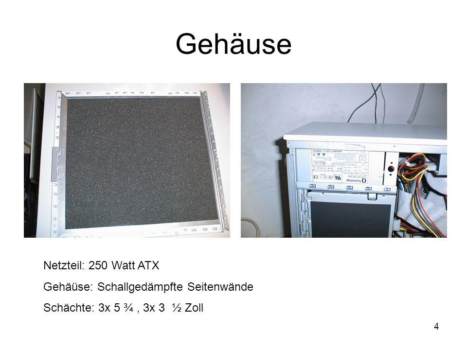 5 Pentium III Taktfrequenz: 1000 MHz Kernspannung: 1,75 Volt Cache: 512 KB Bauform: Sockel 1 (370)