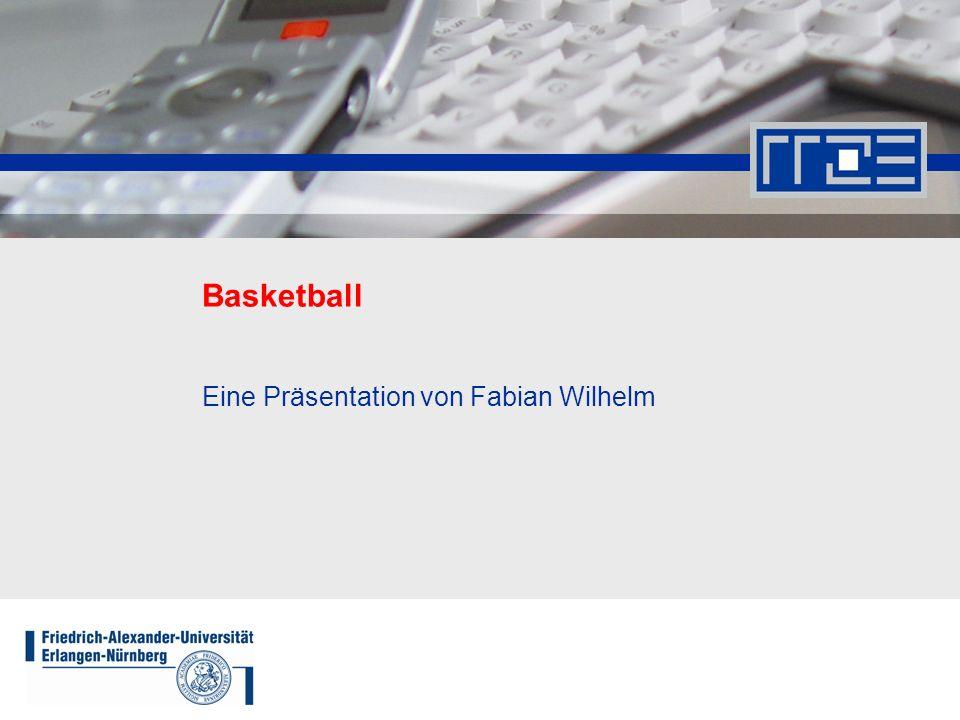 Basketball17.11.08Fabian.Wilhelm@rrze.uni-erlangen.de2 Inhaltsübersicht Historie Basketball heute Eigenschaften des Spielballes Spielprinzip; Angriff- und Verteidigungsmöglichkeiten Spielfeldeigenschaften und Zonenverteilung Sekundenregel Fouls und Folgen der Fouls