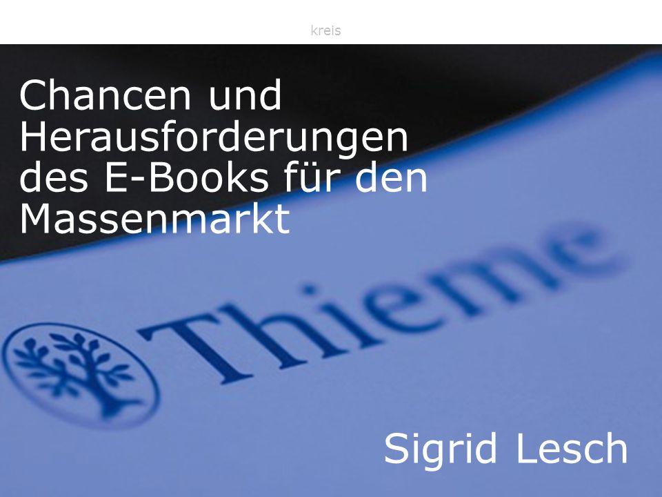 Daisy Sept 2009 Sigrid Lesch, AKEP Sprecherkreis Chancen und Herausforderungen des E-Books für den Massenmarkt Sigrid Lesch