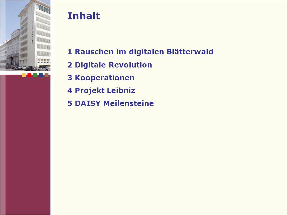 Die Zukunft Barrierefrei – Blindenbüchereien als Schrittmacher der digitalen Revolution .
