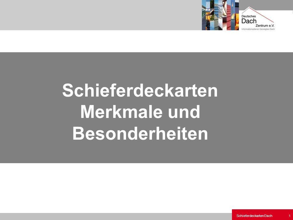 Schieferdeckarten Dach 12 Altdeutsche Deckung Deckbild Ort