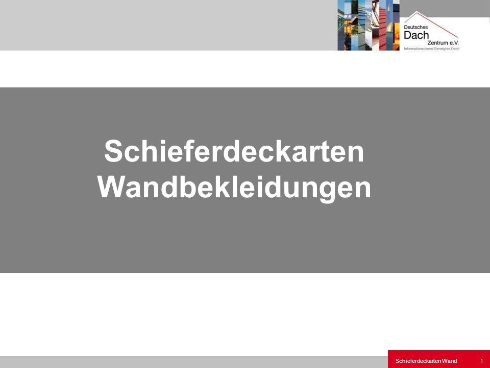 Schieferdeckarten Wand1 Schieferdeckarten Wandbekleidungen