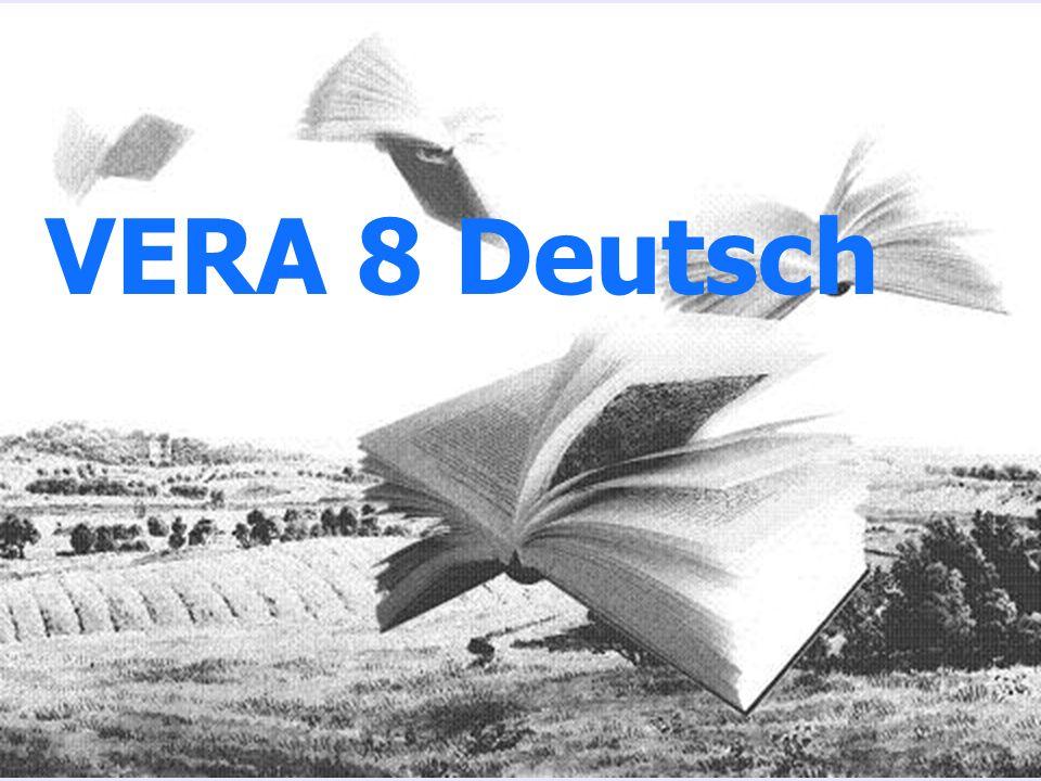 PÄDAGOGISCHES ZENTRUM RHEINLAND-PFALZ VERA 8 Deutsch