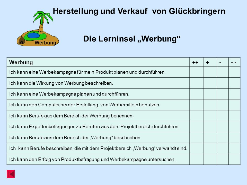 Werbung Die Lerninsel Werbung.
