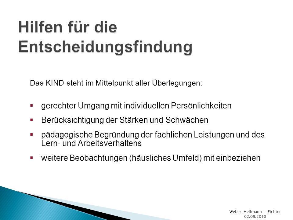 Weber-Hellmann - Fichter 02.09.2010 Vielen Dank!