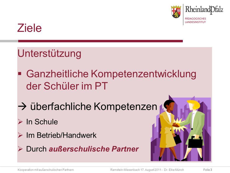 Folie 3Kooperation mit außerschulischen Partnern Ramstein-Miesenbach 17.