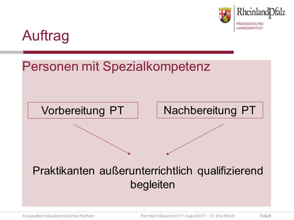 Folie 5Kooperation mit außerschulischen Partnern Ramstein-Miesenbach 17.