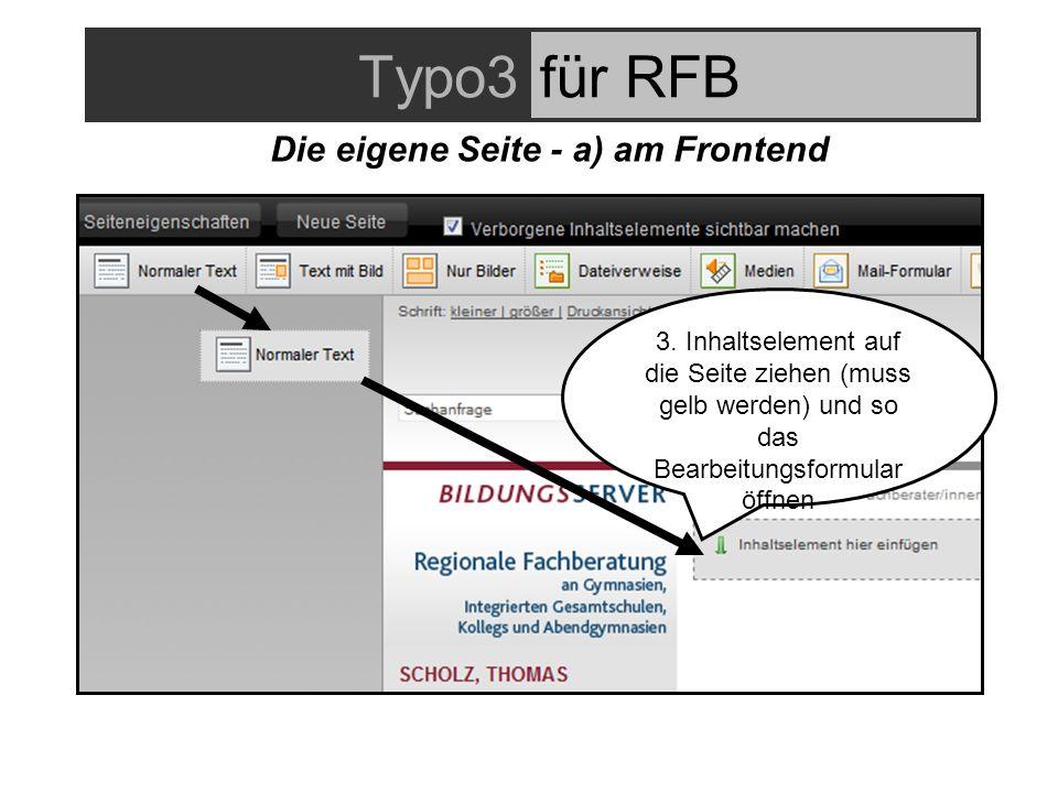 Typo3für RFB 3.