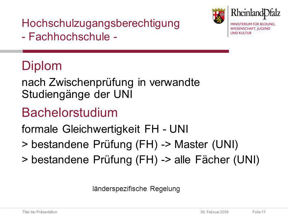 Folie 11Titel der Präsentation09.