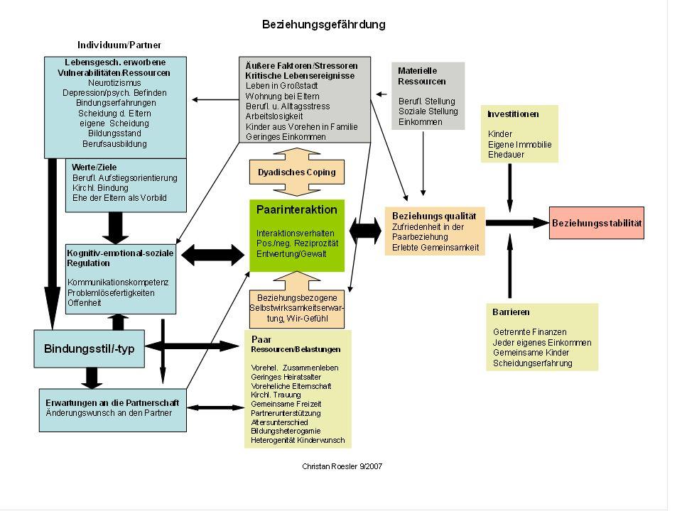 Erfassung familiäres Funktions- /Belastungsniveau GARF-Skala aus DSM-IV Global Assessment of Relational Functioning Berater schätzt Belastung/Funktionsfähigkeit des familiären Systems auf einer 100- Punkte-Skala ein anhand von Ankerbeispielen