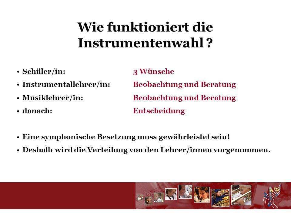Wie funktioniert die Instrumentenwahl .