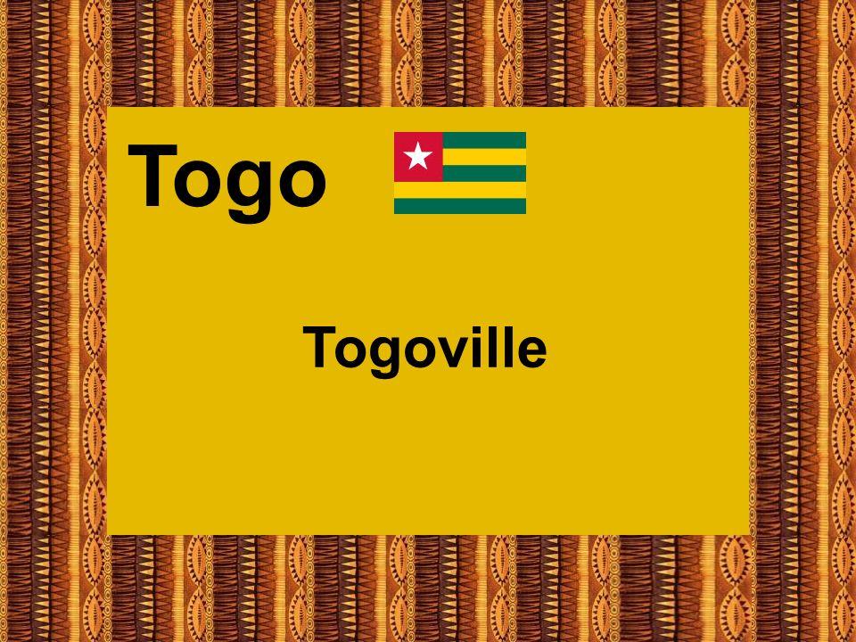 Beispiel einer privaten Unterkunft in Togoville