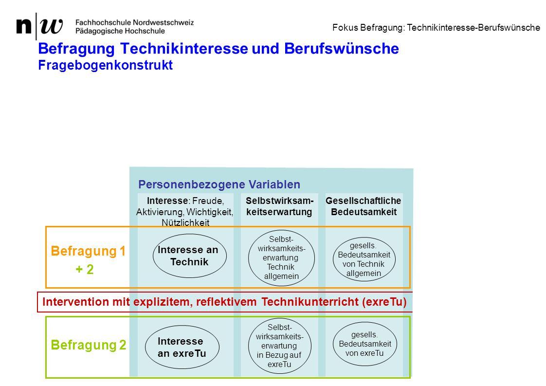 DGTB Tagung Potsdam 23.9.10 Anni Heitzmann33 Befragung Technikinteresse und Berufswünsche Fragebogenkonstrukt Gesellschaftliche Bedeutsamkeit Selbstwi